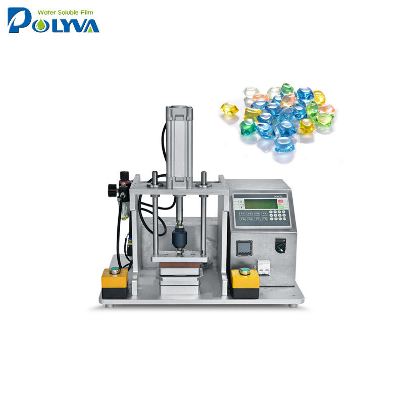 Lab scale pods sample making machine for laundry pods / laundry pods filling machine