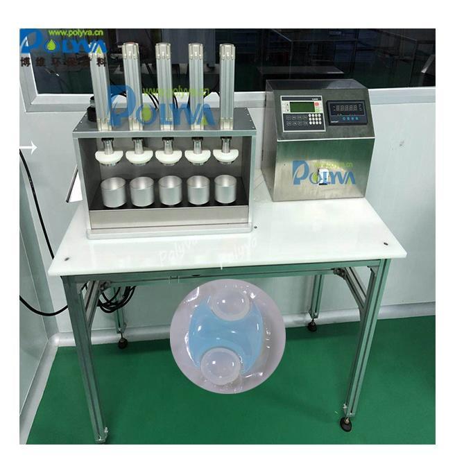 Polyva auto accurate firm lab anti-pressure ester for laundry capsule