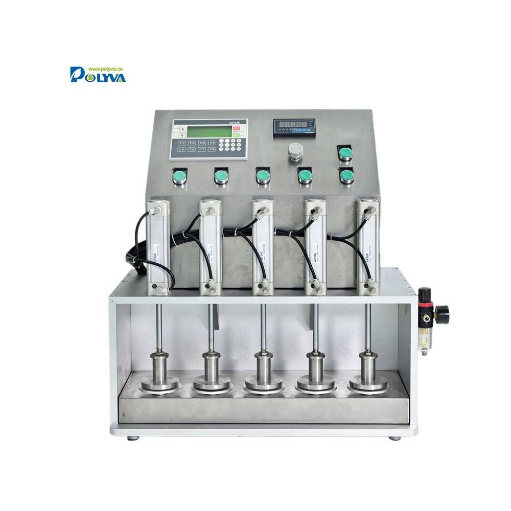 Polyva pressure tester for laundry detergent pods