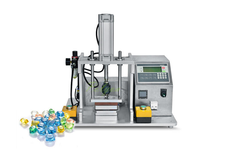 Lab scale laundry pods making machine detergent capsules filling machine