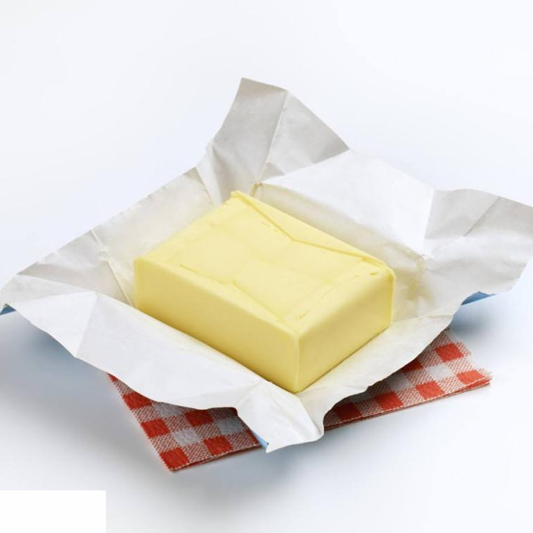 butter wrapping silver foil paper