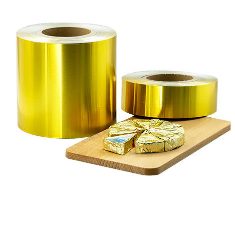Kolysen Lacquered Aluminium Foil For Triangle Cheese Packaging