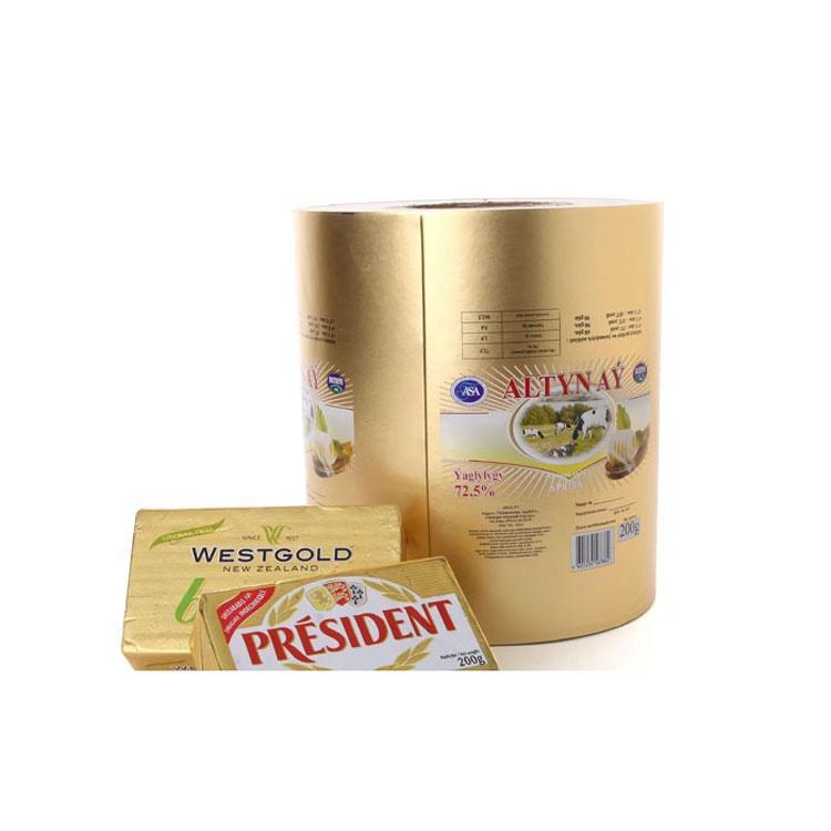 butter margarine packaging aluminium foil paper