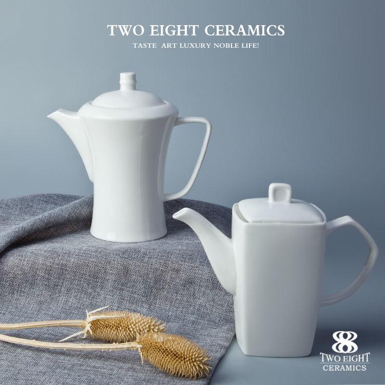 International hotel long term supplier unique decorative large ceramic teapot