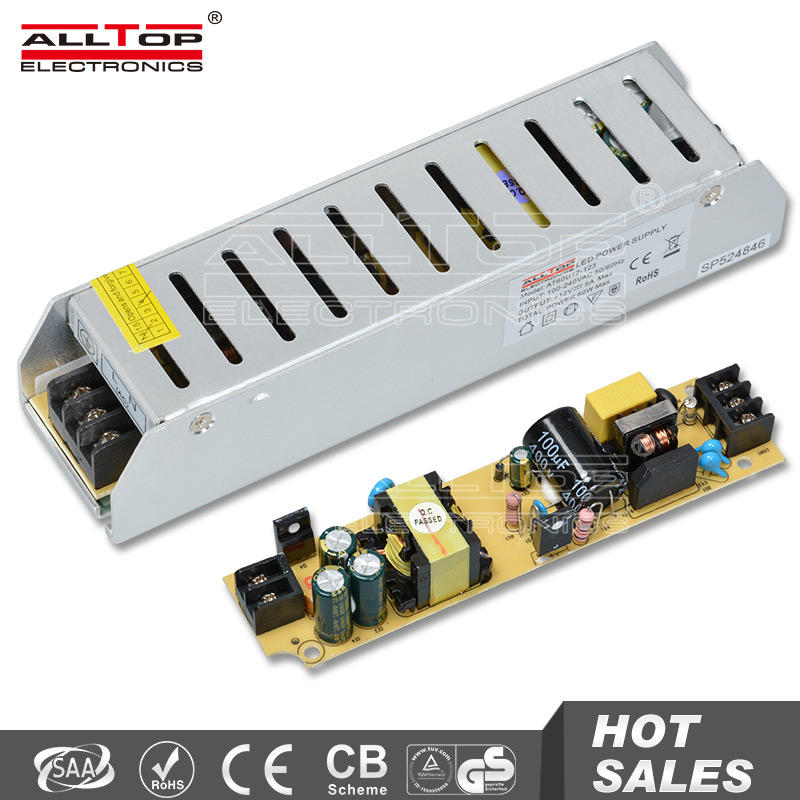 Constant voltage switching 60w led power supply 12v