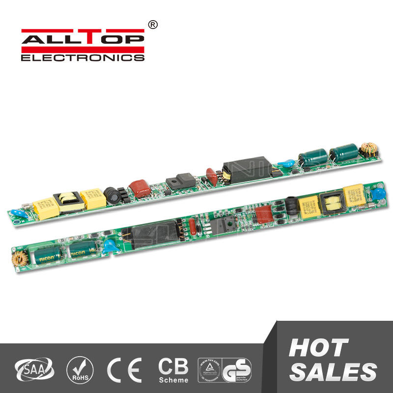 Electronic constant current 24W 240mA t8 led tube driver