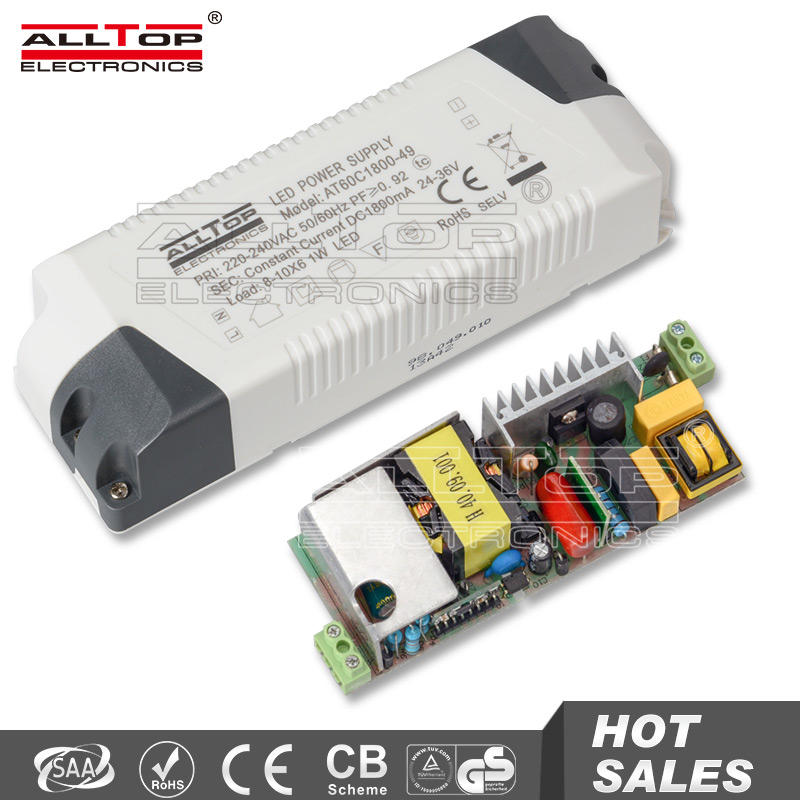 Constant voltage 60w 24vac led power supplies