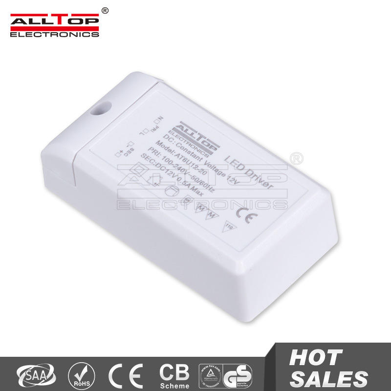 3 Year warranty constant voltage 500mA 6w led driver