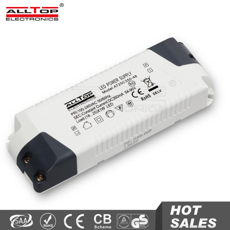 High efficiency constant current 900ma 30w led driver approved