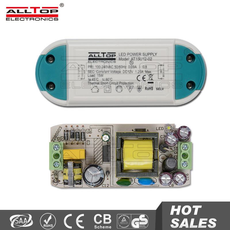 High efficiency constant constant 27w 650ma led driver