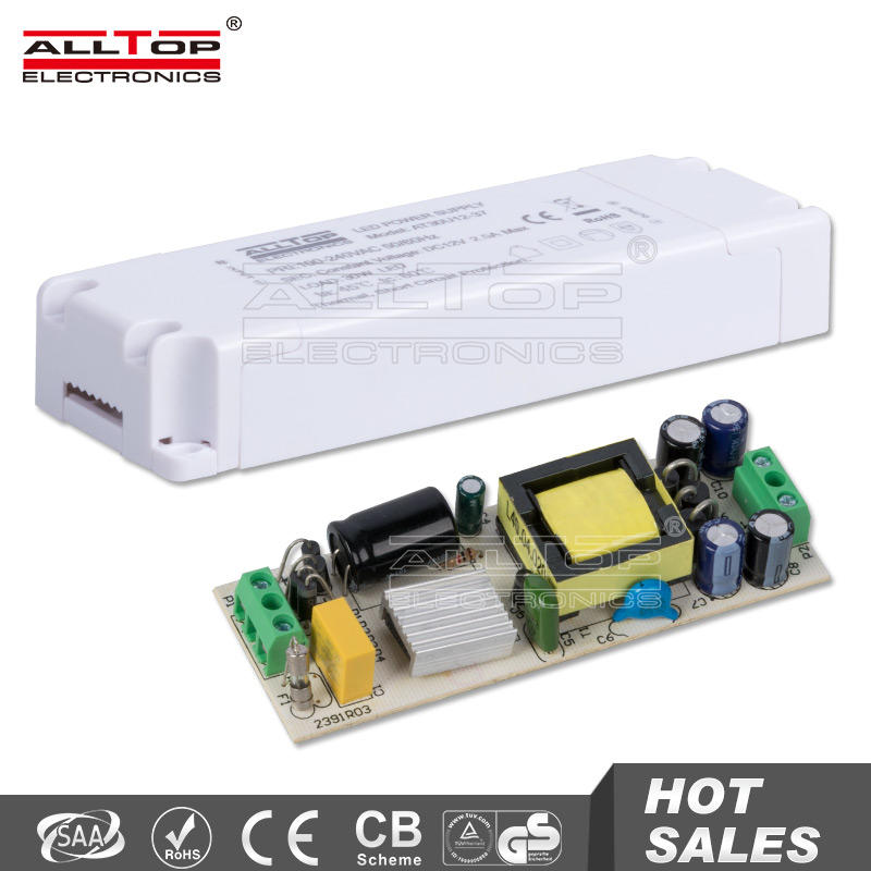 Enclosure constant current 3000mA 36W led driver module