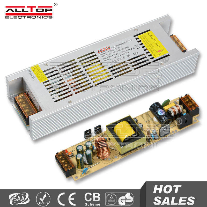 Constant voltage 200w 24 volt ac led power supply