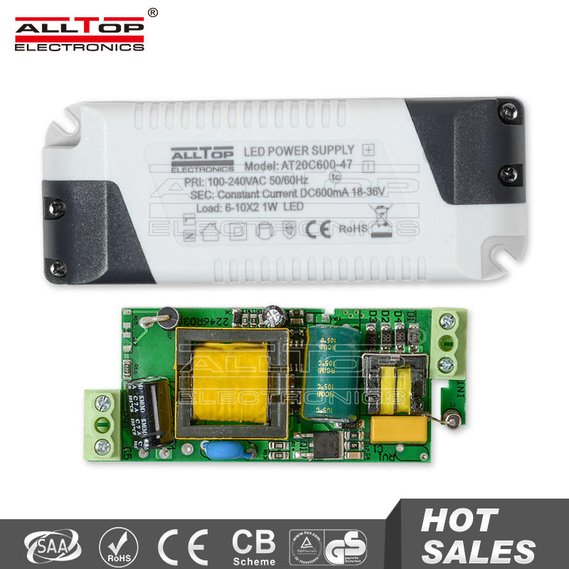 High efficiency constant current 300mA 18w led driver