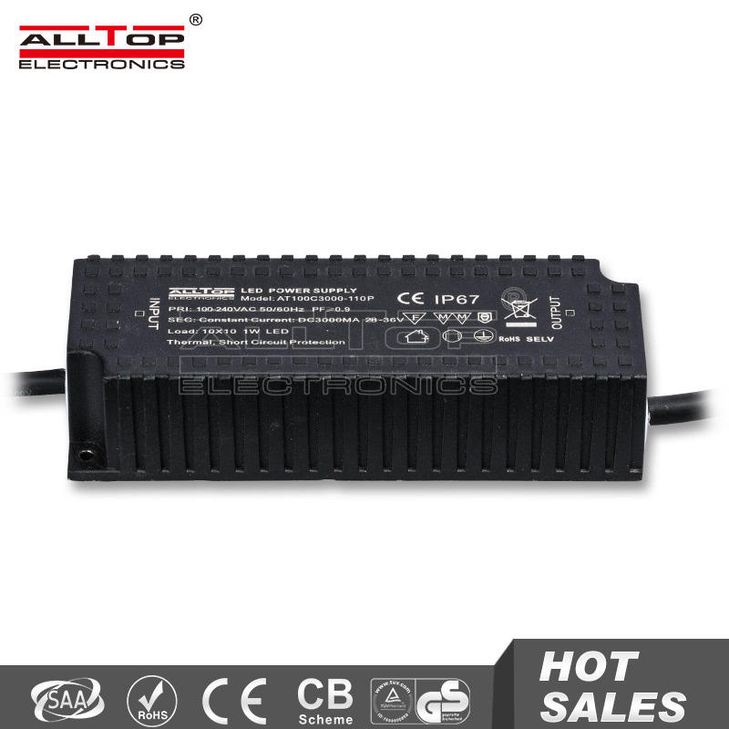 IP65 Waterproof constant current 36v 100w led power supply