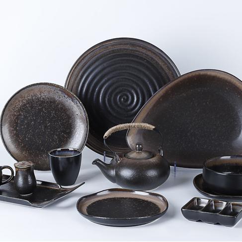Hot SellingDesigner Dinnerware Sets Ceramic Plate, Porcelain Plate Ceramic Dinner Dishes In Hotel Restaurant