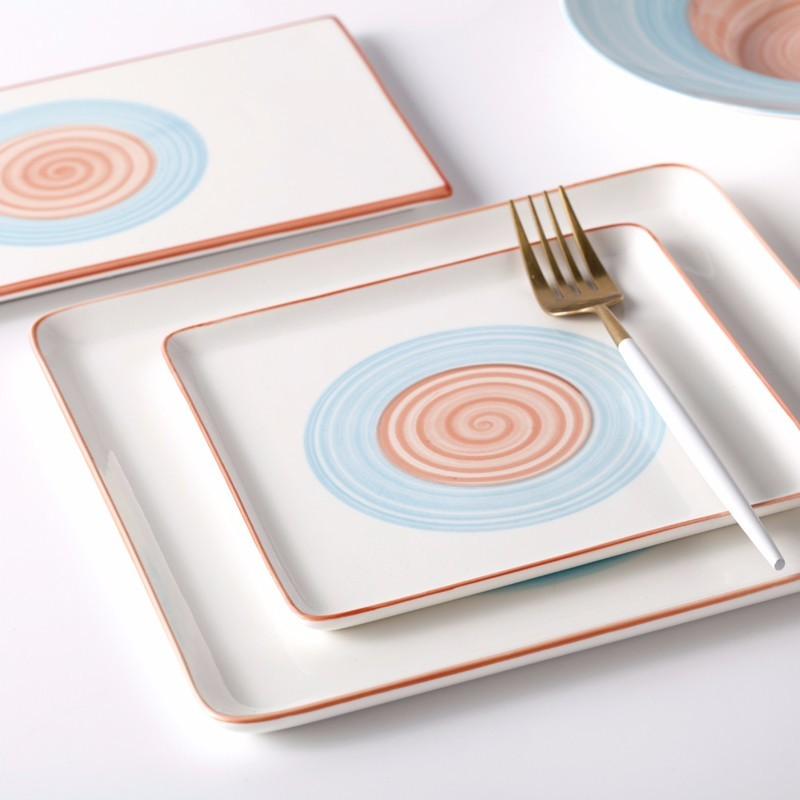 New Product Ideas 2019 RestaurantDinnerware Plates, Good Quality Color Dish Factories In Guangzhou New Dinner Plate/