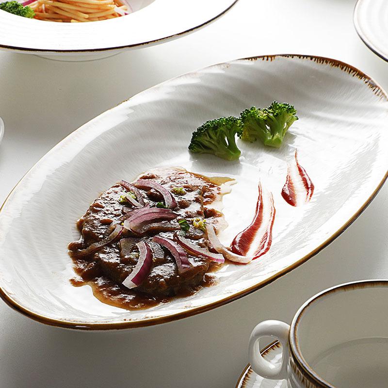 Custom Printed Wholesale Market Royal Fine Porcelain CeramicTableware Dinnerware Sets*