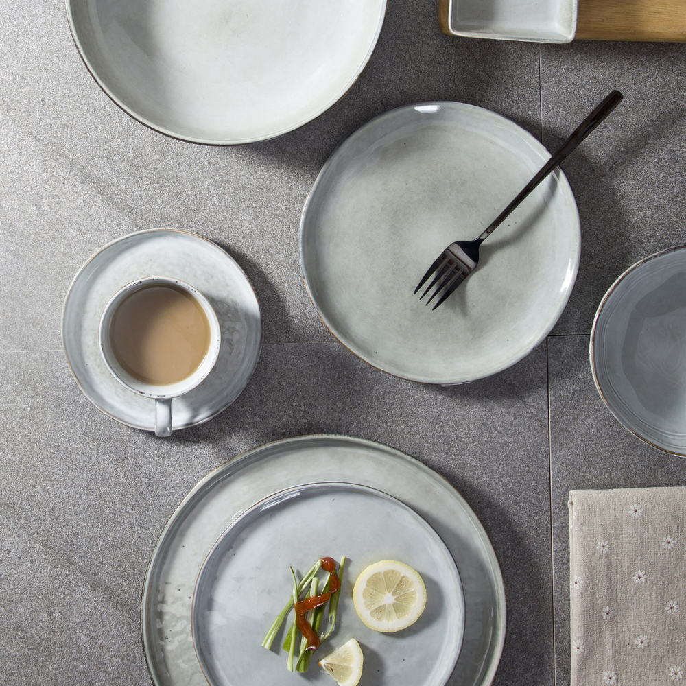 High Quality Ceramics Dinnerware Dinner Plate, Wholesale Environmentally Friendly Dinnerware Sets&