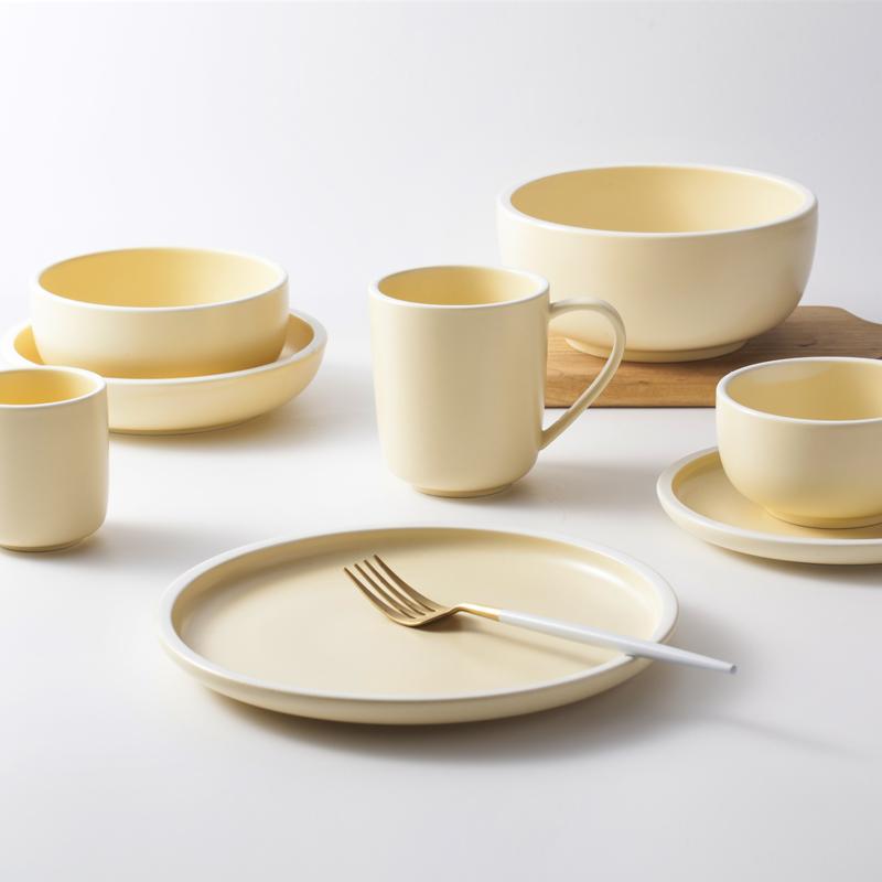 Wedding Using ceramic Plates Sets Dinnerware, New Product Ideas 2019 Nordic Ceramic Portuguese Ceramic Dinnerware