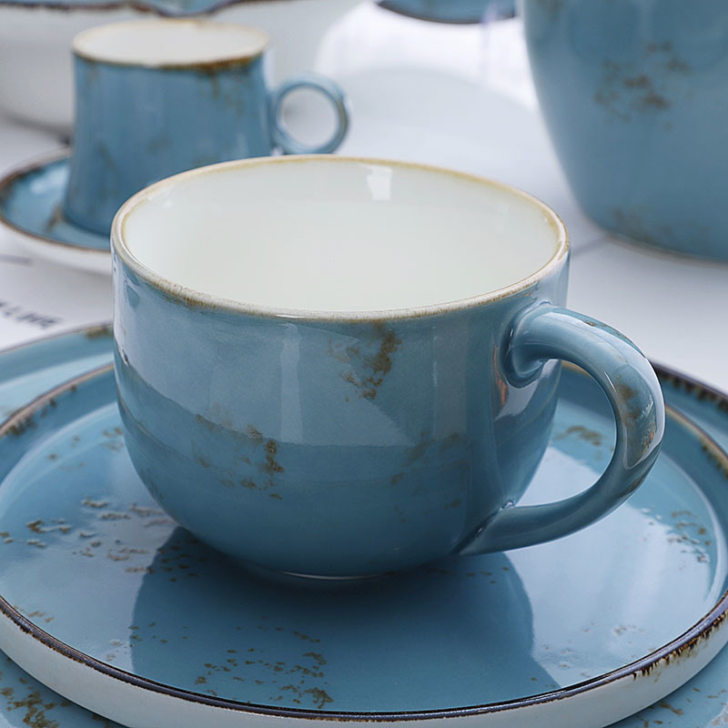 Investment in the Maldives ColorfulCeramic Kitchenware, Crockery Set, Used Restaurant Dinnerware