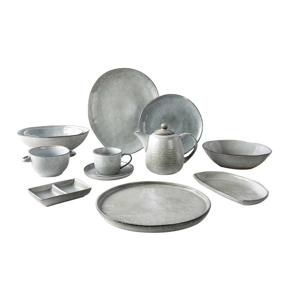Horeca Dinnersets Wedding Tableware, Wholesale Tableware Set Restaurant.Resort Restaurant Hotel Green Dinner Plate Sets