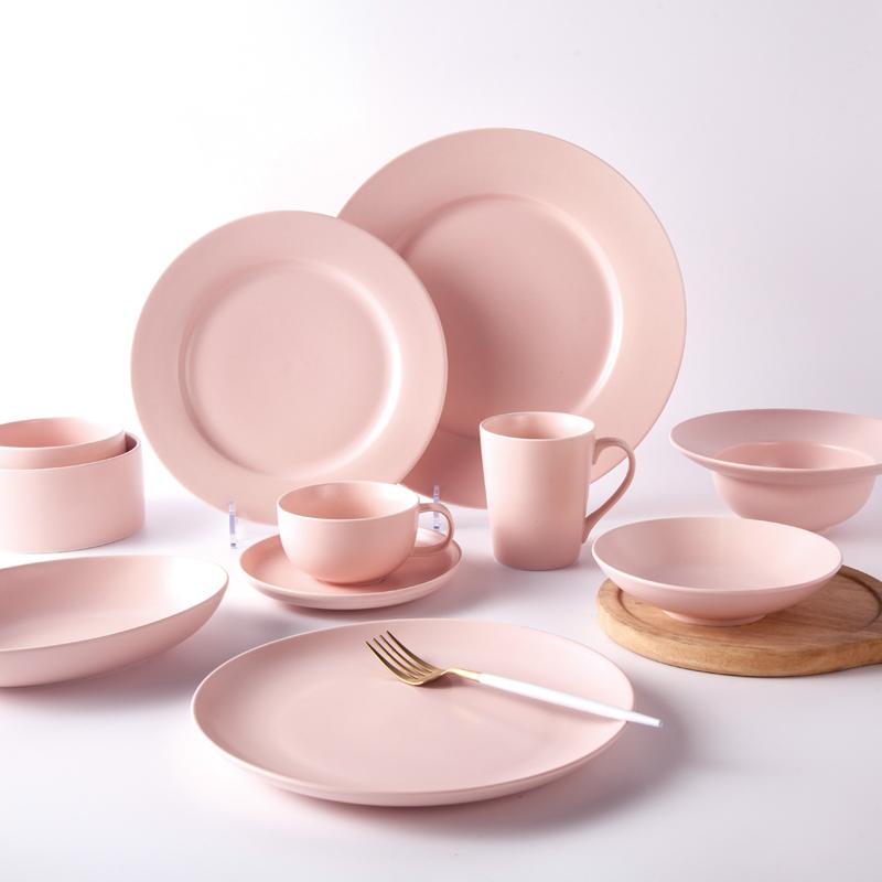 elegant tableware set porcelain used wedding event hotel restaurant