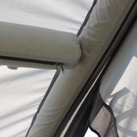 TPU air tube for inflatable tent