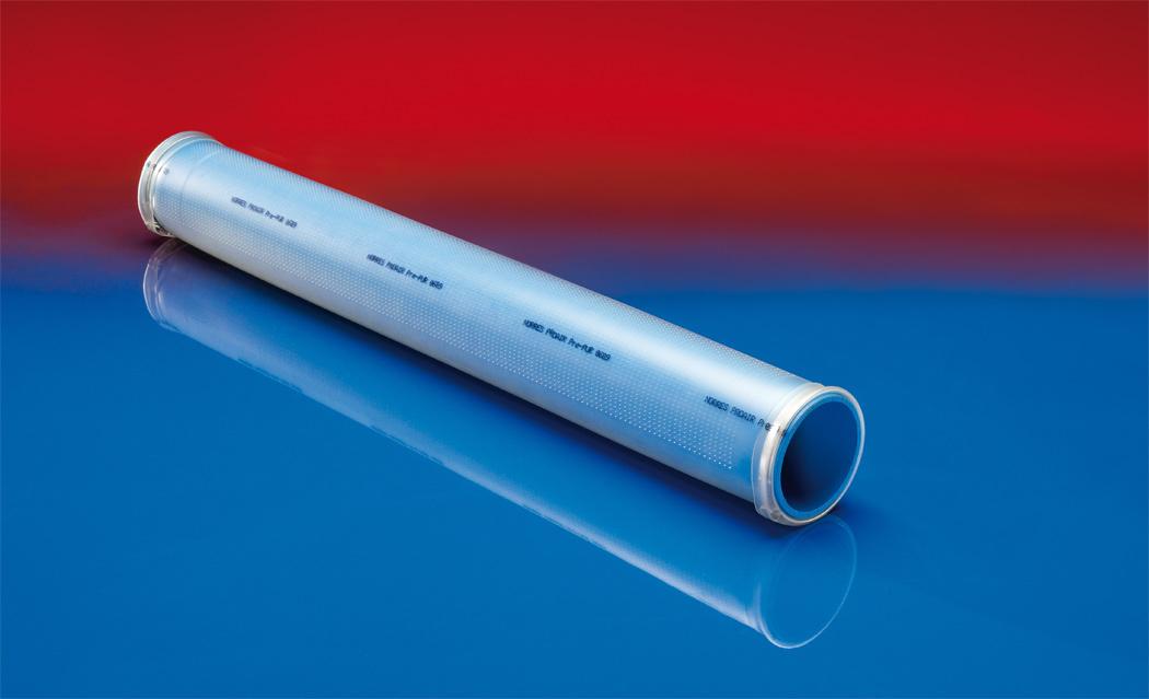 Polyurethane polyether microporous aeration pipe