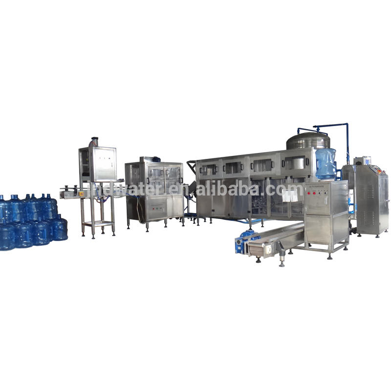 Automatic 5 Gallon Bottle Filling Line for Pure Mineral Water