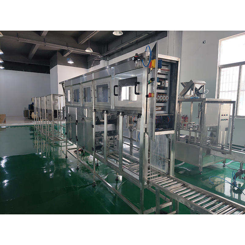 Automatic 5 Gallon Bottle barrel filling machine