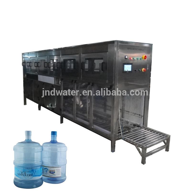 5 gallon barrel mineral water filling machine