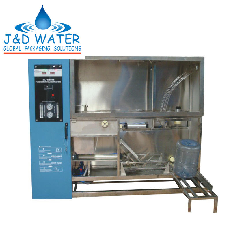 Water Treatment and Filling Machine for 5 gallon bottle