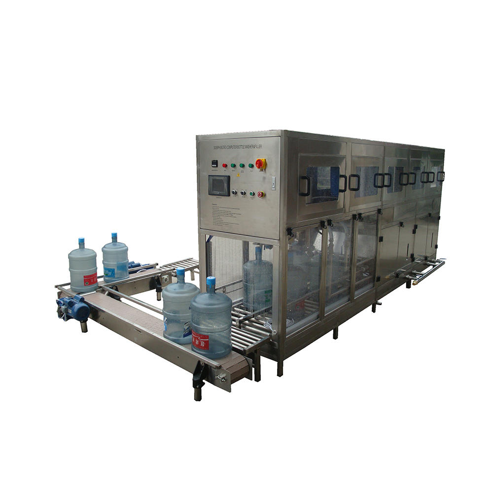 Automatic 5 Gallon Bottle water bucket filling bottling machine