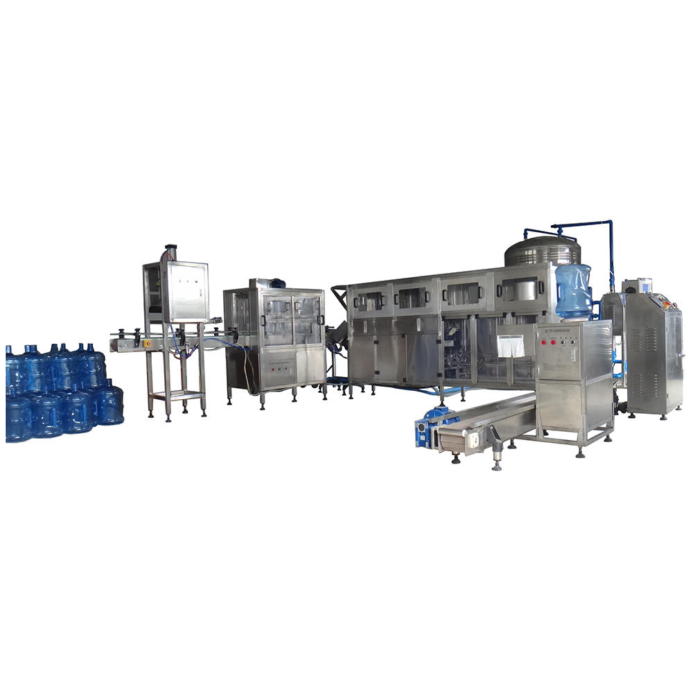 Automatic 5 Gallon Bottle barrel Washing Filling and Capping Machine