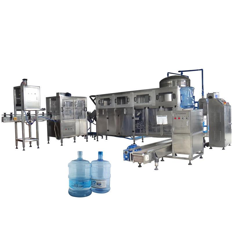 Automatic 5 Gallon Bottling Machine 20 Liter Water Barrel Filling Machine