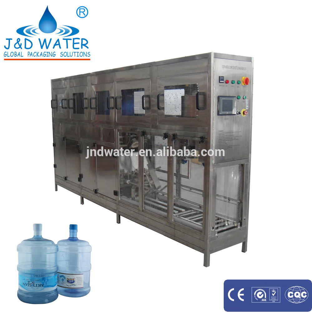 automatic 18.9L /20L 5 gallon water botte filling machine