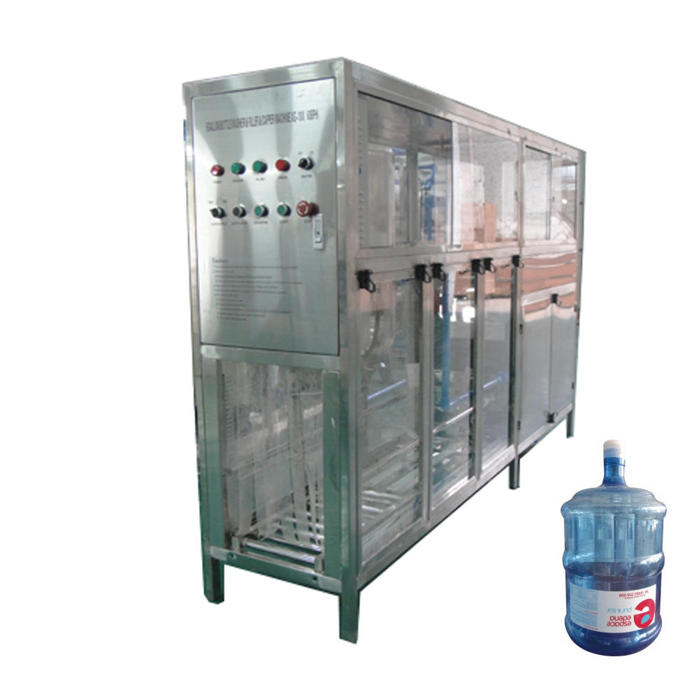 Automatic small 5 gallon bottle water filling machine with washing filling capping