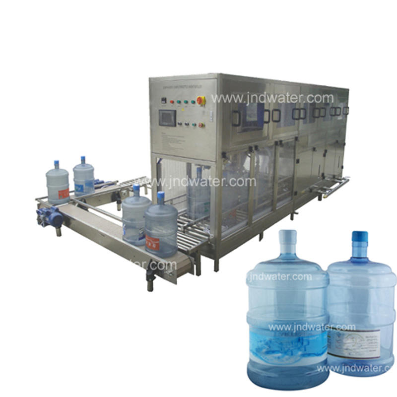 Automatic 5 Gallon Bottle Mineral Water Filling Machine