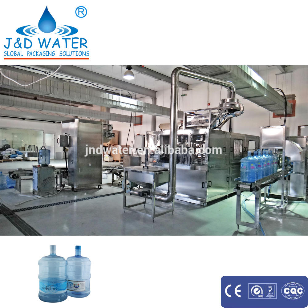 5 gallon bottled water filling equipment
