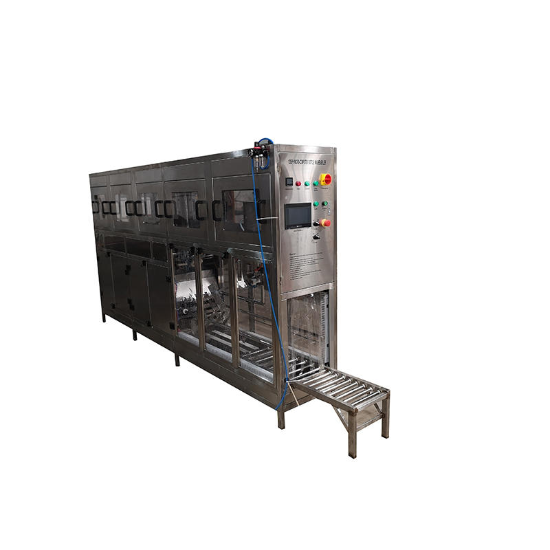 Voltage AC220V / 380V automatic plastic bottle filling and capping machine for 18.9L and 20L