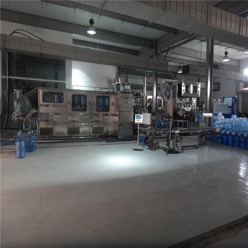 Automatic 5 Gallon Bottle&Barrel Water Filling Machine Equipment For Pure Water