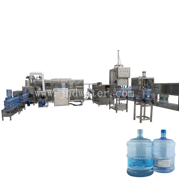 Automatic 5 Gallon Drinking Water Production Line