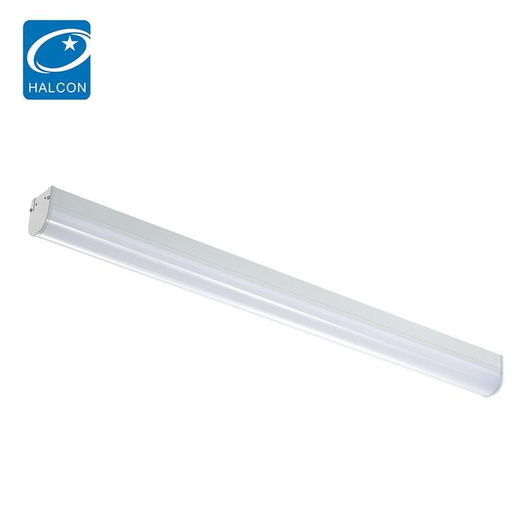 New design plastic 2ft 4ft 8ft 18 24 36 42 68 watt linear led strip batten light