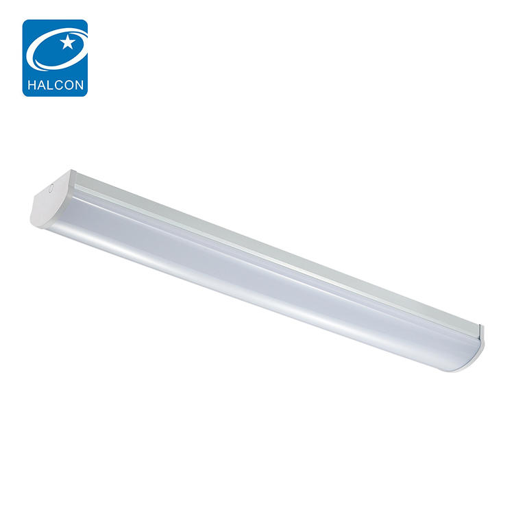 Aluminum PC Vapor Tight 20w 30w 40w 60w 80w Fixture Led Batten Light