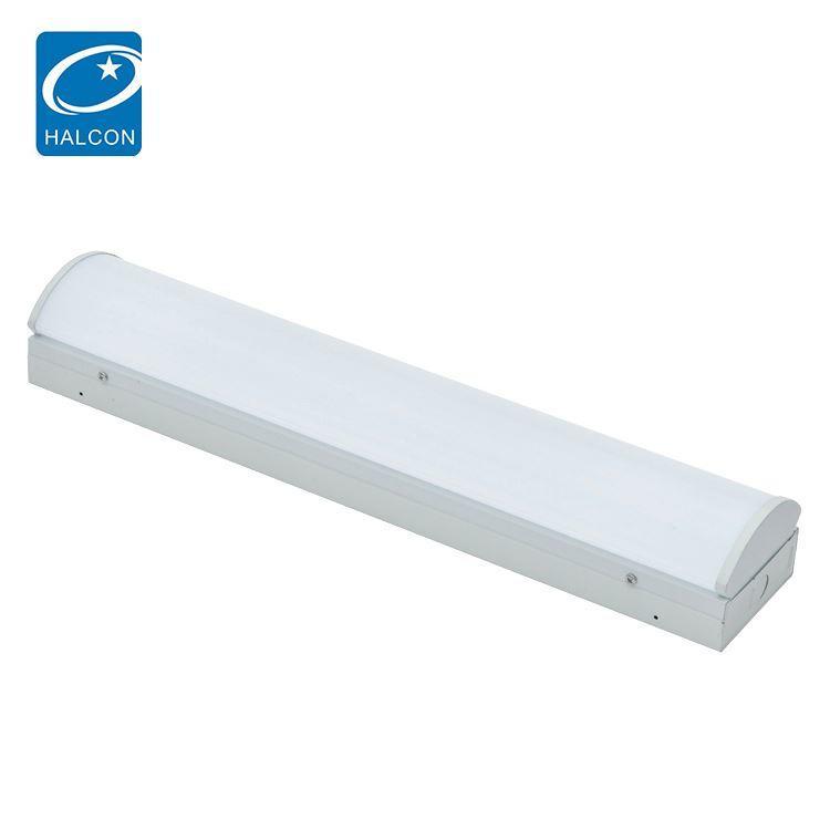 Low power hospital hotel dimming 2ft 4ft 8ft 18 24 36 63 85 w led linear batten light