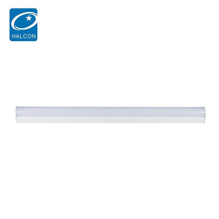 Hot selling school hospital dimming 2ft 4ft 8ft 8ft 18 24 36 42 68 watt led recessed linear light