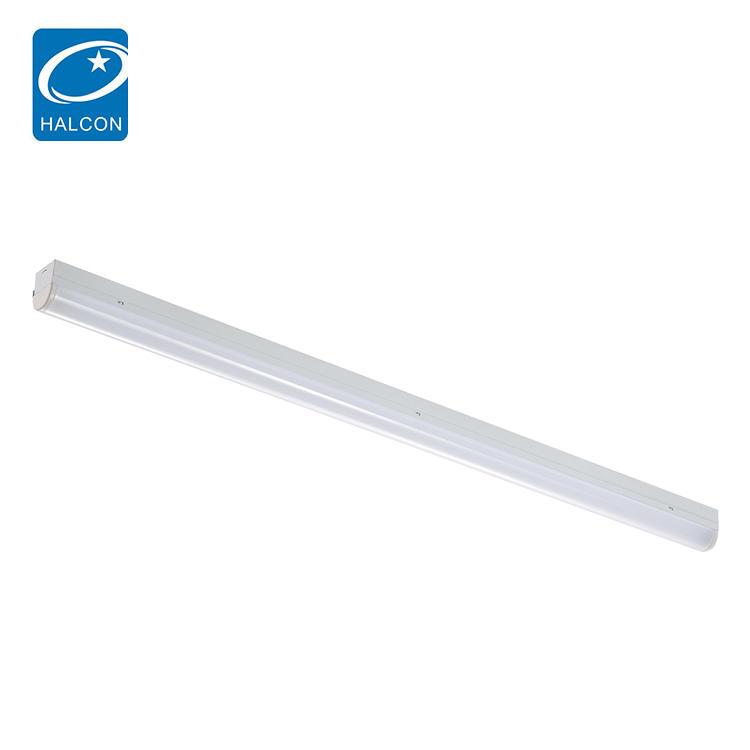 Surface mounted 13w 22w 30w 40w 45w 50w 60w office small narrow slim linear led panel batten light