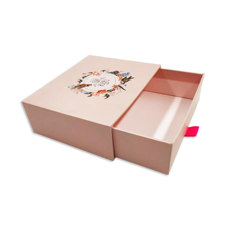 Guangzhou Factory Wholesale Paper Gift Packaging Drawer Boxes Custom Cardboard Boxes