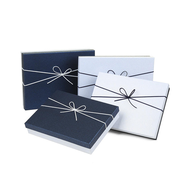 Personalized Elegant Paper T-Shirt Gift Boxes For Clothes Packaging