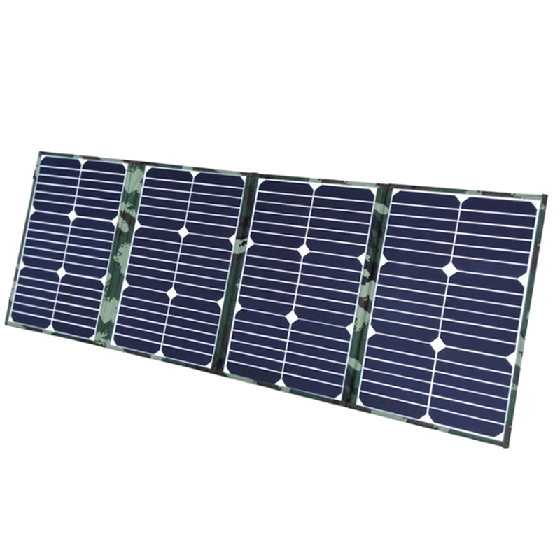 Waterproof 65w For Travelling Grid Tie Bendable 100w 18v New Technolog Portable Solar Panel System